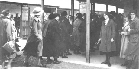 Fur Coats and Overalls: clothing and munition workers in World War One tickets