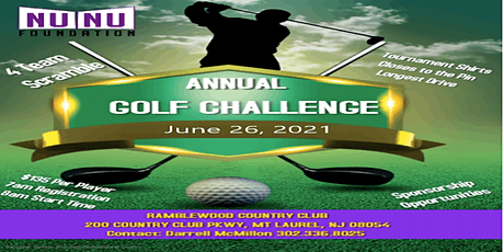 Nu Nu Foundation  Presents Thomas H Mayfield Scholarship Golf Outing 2021 tickets