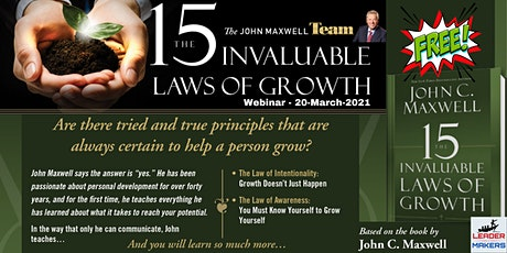 Lunch & Learn - John Maxwell Invaluable Laws of Growth tickets