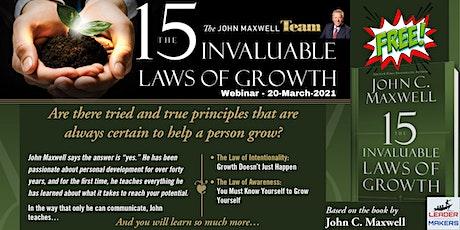 Lunch & Learn - John Maxwell Invaluable Laws of Growth biglietti