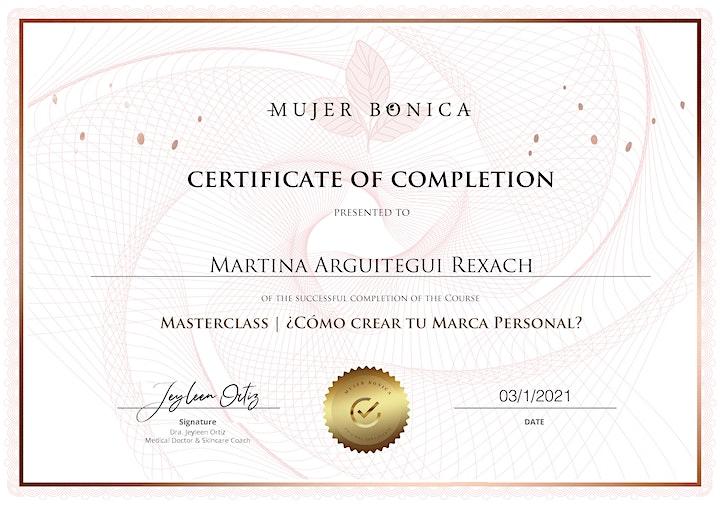 Masterclass España: ¿Cómo crear tu marca personal en Instagram? image
