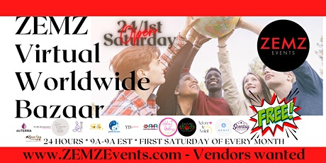 24 Hours-Virtual Worldwide Bazaar tickets