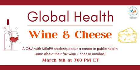 Global Health Wine and Cheese Night tickets