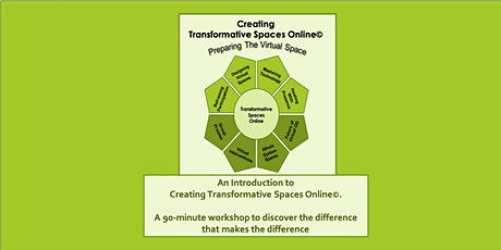 An Introduction to Creating Transformative Spaces Online tickets