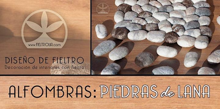 Imagen de Creación de piedras de lana para alfombra