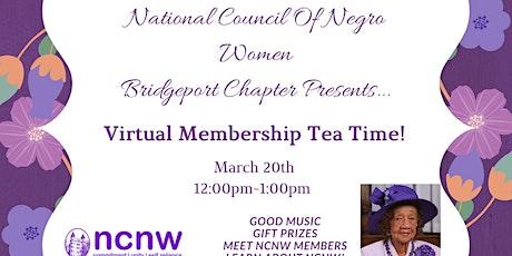 Virtual Membership Tea tickets