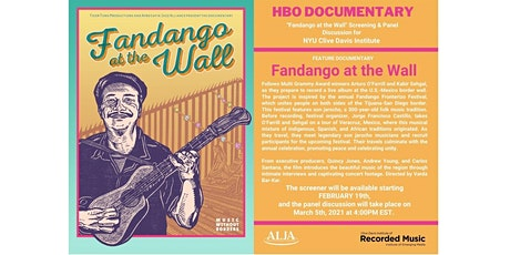 FANDANGO AT THE WALL Screening & Panel Discussion for Clive Davis Institute tickets