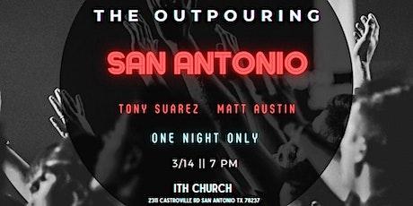 SAN ANTONIO OUTPOURING tickets