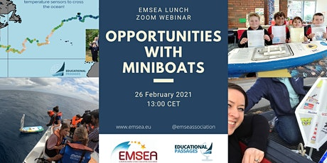 EMSEA Lunch: Opportunities with MINIBOATS tickets