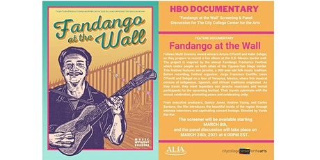 FANDANGO AT THE WALL Screening & Panel Discussion for CCCA tickets