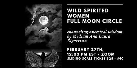 Wild Women Full Moon Circle tickets