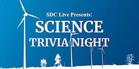 SDC Live: Science Trivia Night! billets