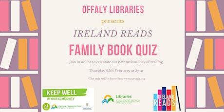 Ireland Reads Family Book Quiz tickets