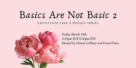 Facilitate Like A Badass Series tickets