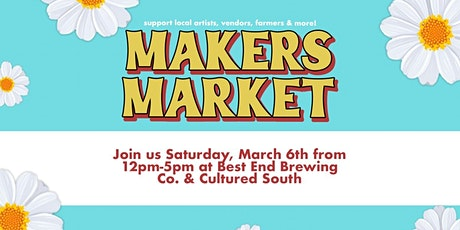 Spring Pop Up Shop: Makers Market ATL tickets