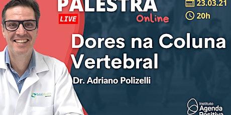 Palestra Online: Dores na Coluna Vertebral ingressos