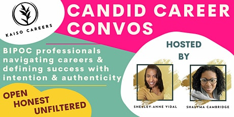 CANDID CAREER CONVOS - Friday, March19, 2021 tickets