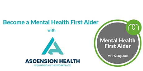 Online Mental Health First Aid Training - MHFA England tickets