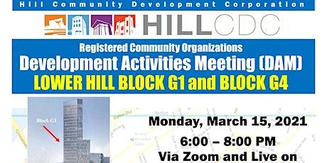Development Activities Meeting: Lower Hill Block G1 tickets