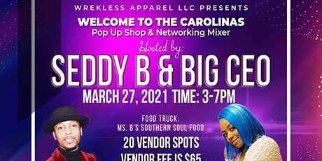 Welcome to the Carolinas Pop Up Shop & Networking Mixer tickets