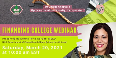 Financing College Webinar tickets