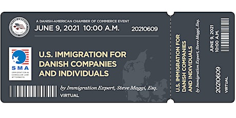 U.S. Immigration for Danish Companies and Individuals tickets