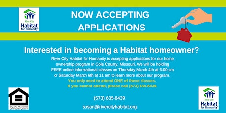 Homeowner Informational Class tickets