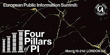 C.A. European Public Information Summit 2021 tickets