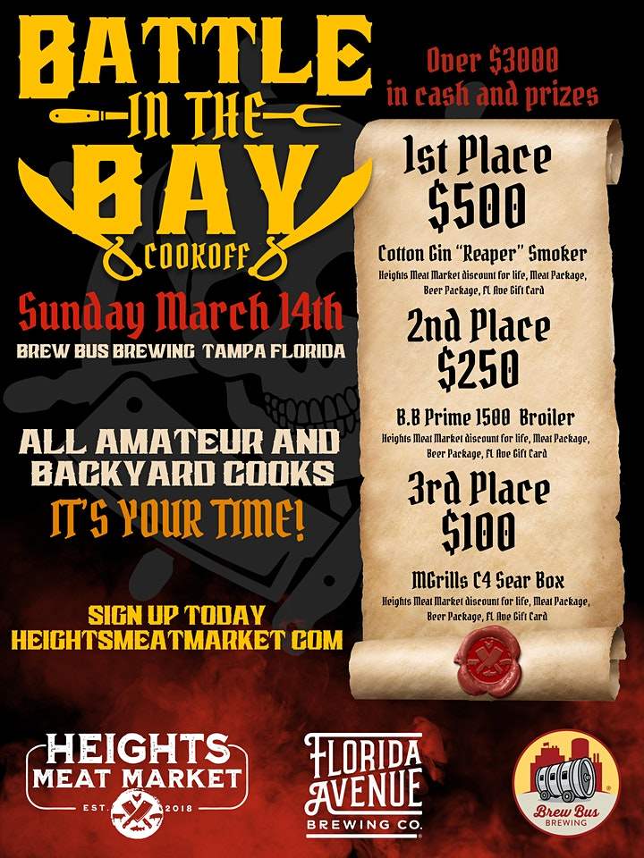 Battle in the Bay Cook Off image