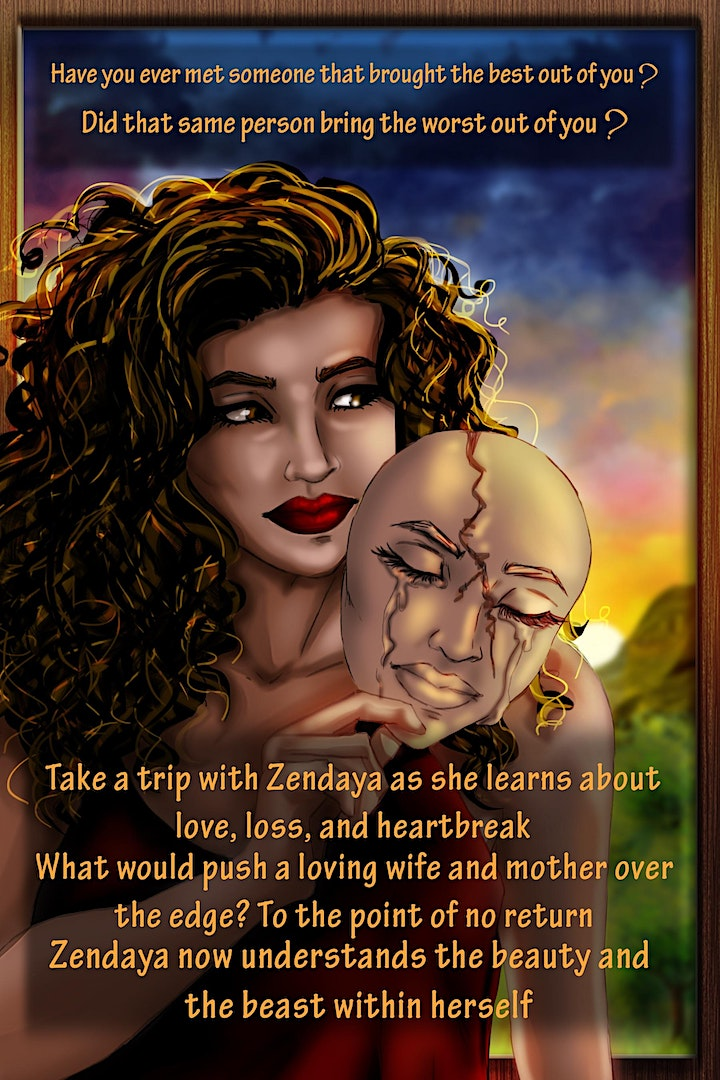 Keisha KD Donald presents: The Beauty & The Beast within Book Release image