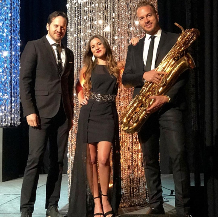 Friday Night on the Town with GOLD STANDARD, a Funky Jazz Trio image