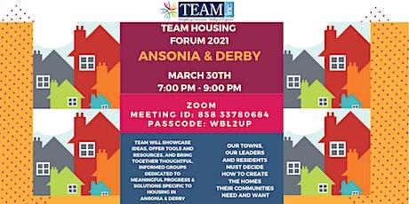 TEAM Housing Forum 2021 Tickets