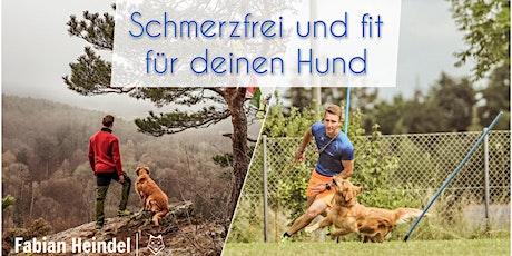 """Online-Seminar """"Schmerzfrei und fit für deinen Hund"""" Tickets"""