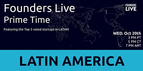 Founders Live Prime Time: Round 2 - Latin America tickets
