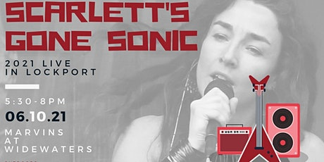 Scarlett's Gone Sonic plays Marvins at Widewaters tickets