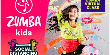 Kid's Virtual Zumba Fitness - Let's Move - PBC Commit to Change! tickets