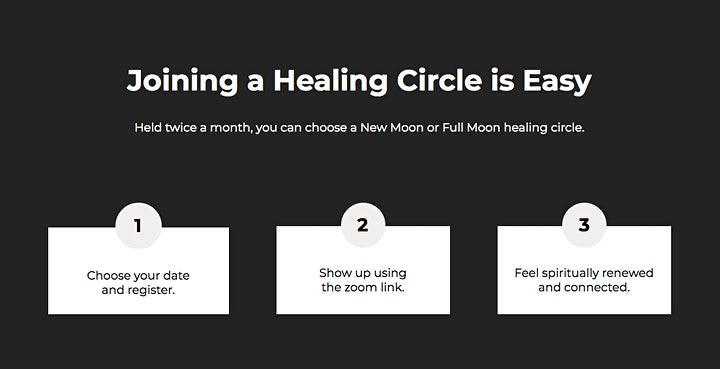 New Moon Healing Circle image