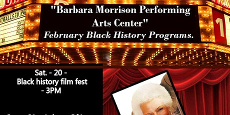 Black History Month Live From Barbara Morrison Performing Arts Center tickets