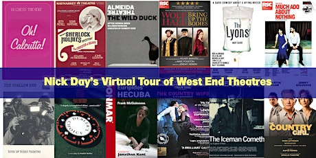 Nick Day's Virtual Tour of West End Theatre ingressos