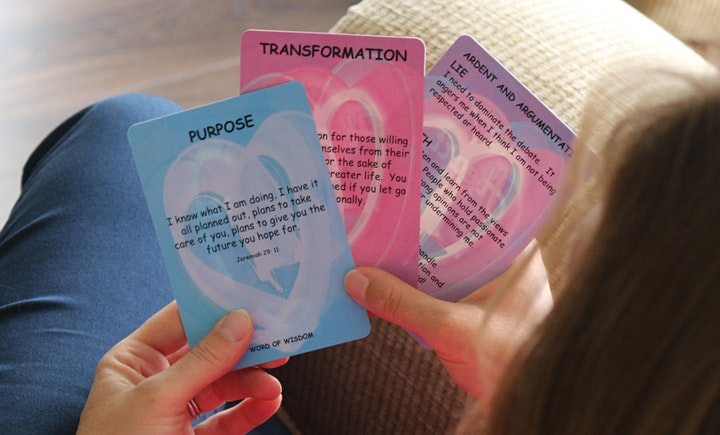 Inspirational Heart to Heart, Destiny Deck & Ruach Cards.  Find out more! image