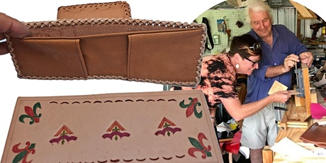 Beginners Lacing & Stamping - Leather Wallet Class tickets
