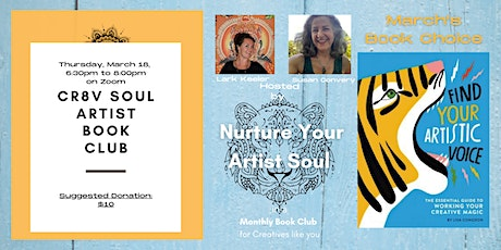 "Virtual Artist Book Club - ""Find Your Artistic Voice"" by Lisa Congdon tickets"
