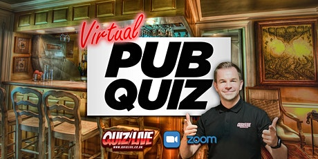 The Virtual Pub Quiz Live on Zoom with Carl Matthews tickets