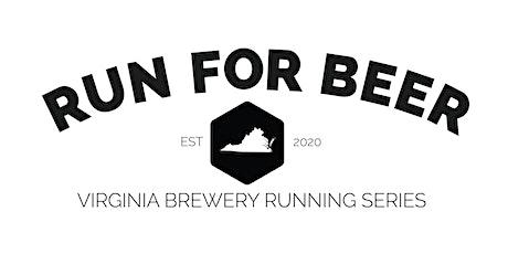 Beer Mile- Alewerks Brewing Company | 2021 Virginia Brewery Running Series tickets