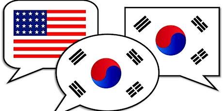 Korean Conversation tickets
