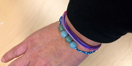 Take & Make Crafts for Adults:  Famous-maker Inspired Wax Corded Bracelets tickets