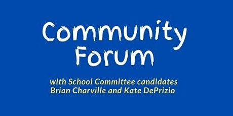 Community Forum - Grades 1 - 4 tickets