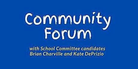 Community Forum - Middle School tickets