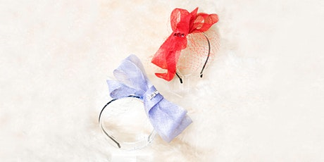 Millinery Workshop - Fascinator Petite(Alice) for Beginners tickets