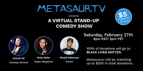 Metasaur Stand Up Comedy Show tickets